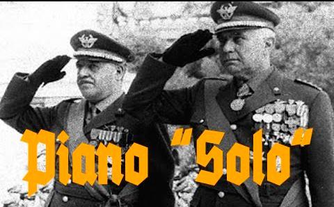 """Risultati immagini per Piano Solo"""" fatto solo dai carabinieri"""