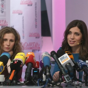 Pussy Riot in conferenza stampa
