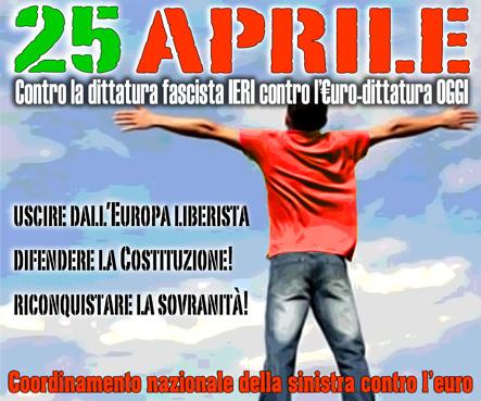 25 aprile euro