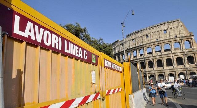 Metro C Roma apertura rinviata