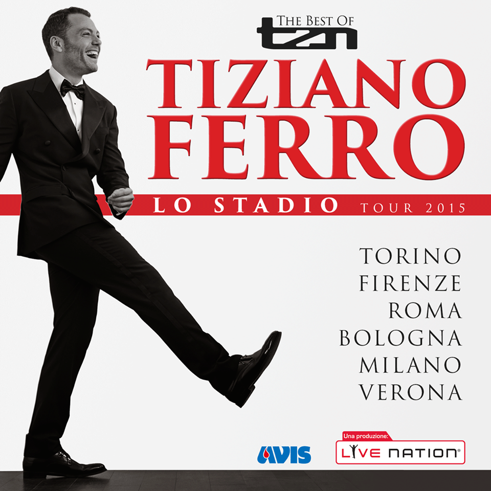 Tiziano Ferro, al via Lo Stadio Tour 2015: sale l'attesa ... Justin Timberlake Tour 2018