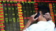 Crollo Borsa Cina