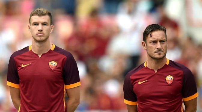 Dzeko Totti
