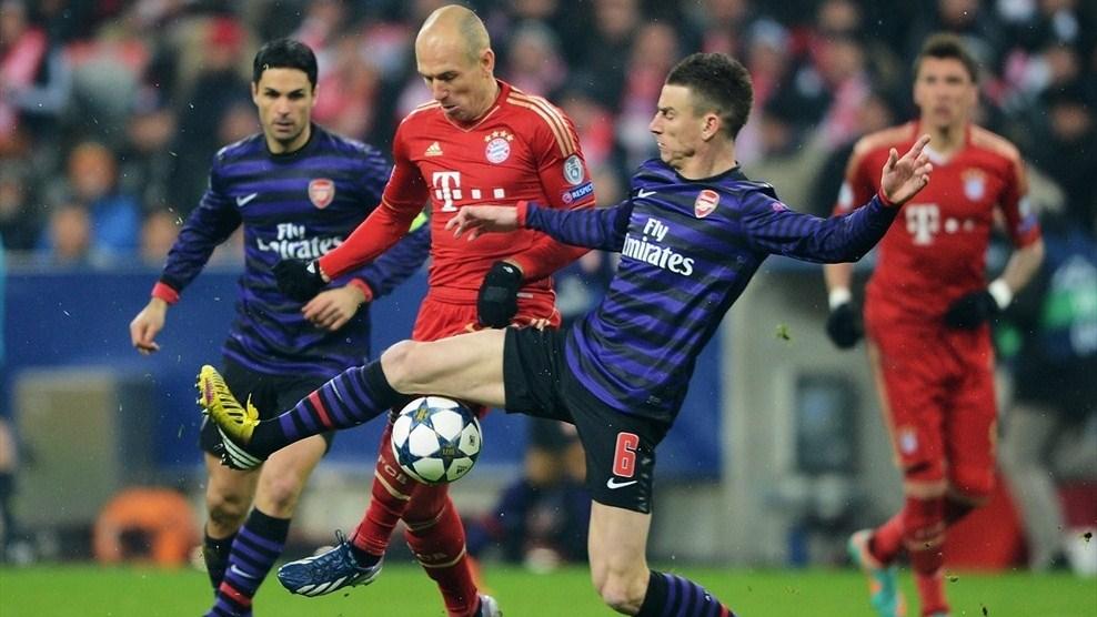 Arsenal-Bayern Monaco