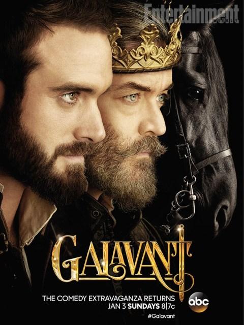 promo poster Galavant