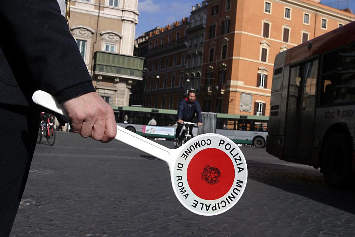 blocco traffic o roma 4 dicembre