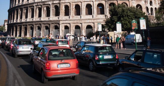 targhe alterne roma 17 18 dicembre