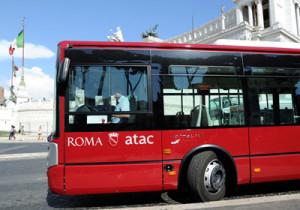 blocco traffico roma atac
