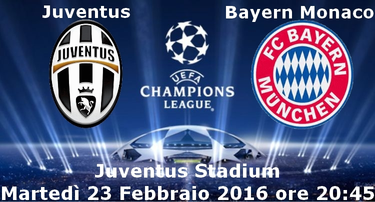 juventus-bayern monaco diretta tv streaming