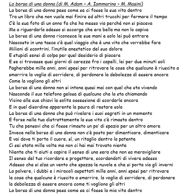 Testi canzoni Festival di Sanremo 2016: i brani in gara di Lorenzo ...