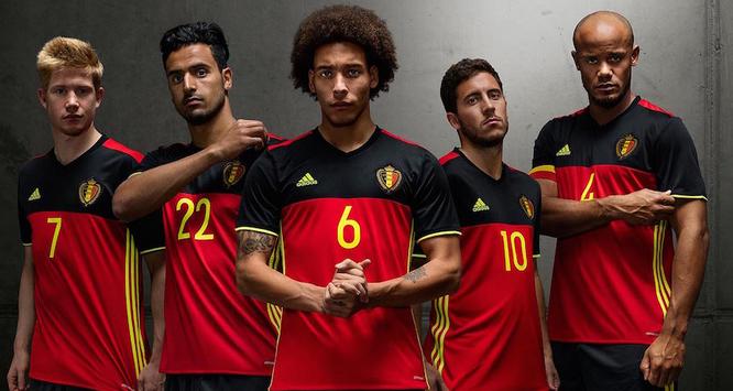 europei 2016 maglia belgio