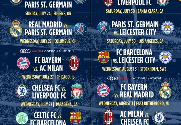 international champions cup 2016 date