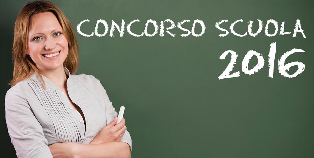 Concorso Scuola 2016