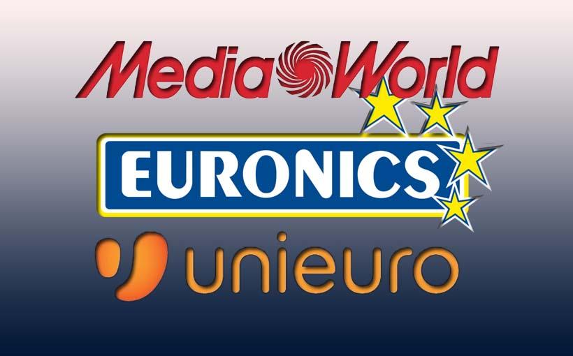 Volantino MediaWorld, Euronics e Unieuro prima metà di
