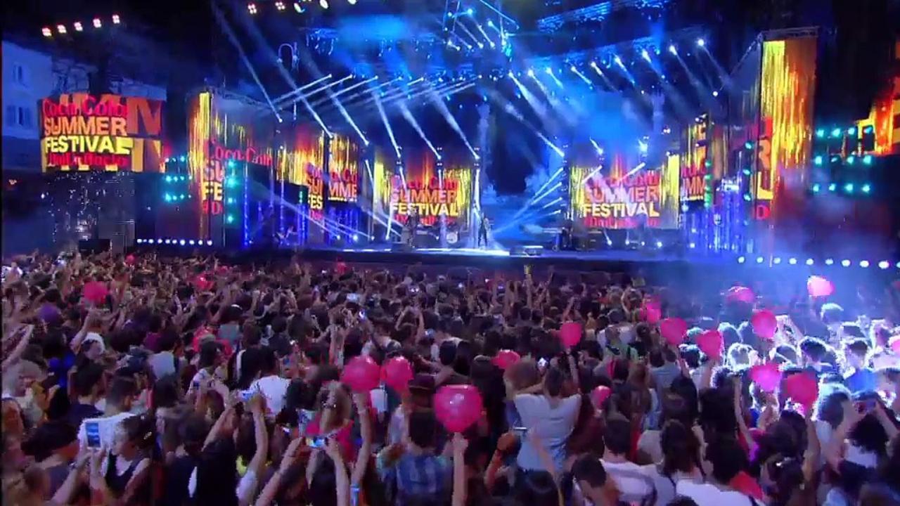 WIND SUMMER FESTIVAL LA MUSICA E' SU CANALE 5