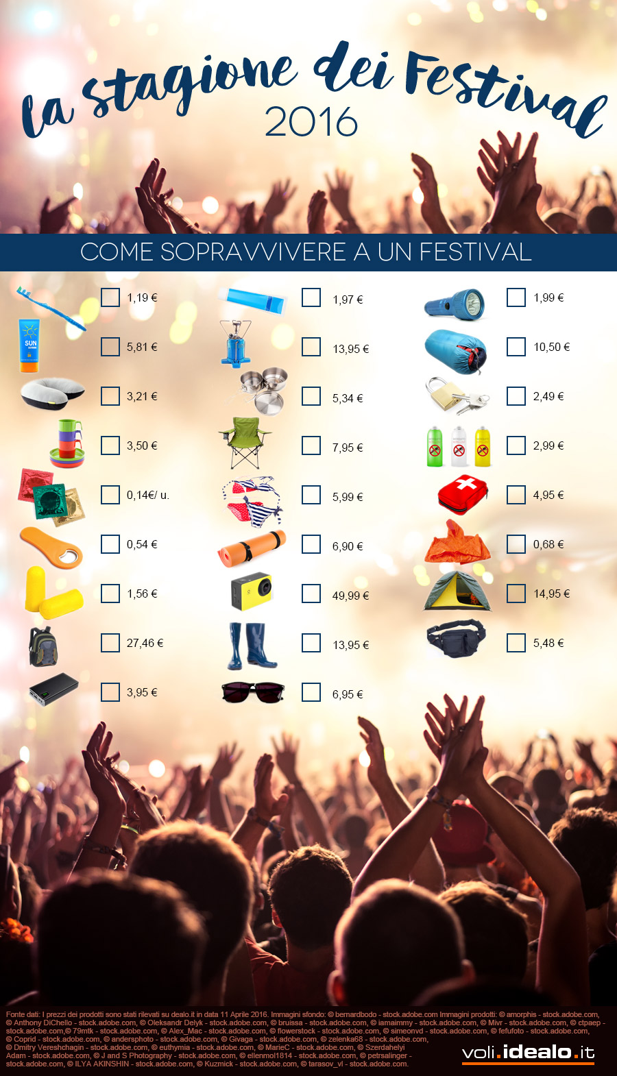 Consigli Festival estate 2016