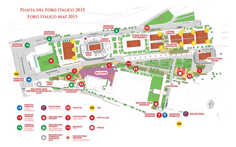 Come raggiungere Foro Italico Roma - Lettera43 Guide