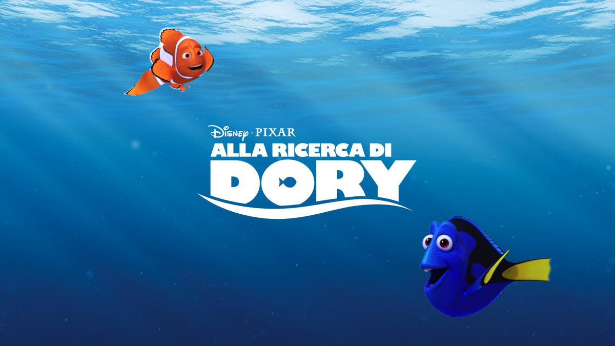 Alla ricerca di dory data di uscita e nuovo trailer for Immagini dory