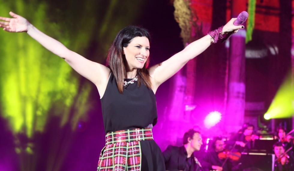 Laura Pausini a Milano, ecco la scaletta del concerto