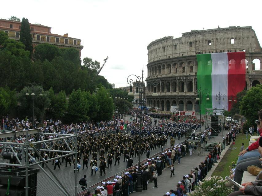Festa Repubblica, Girone: