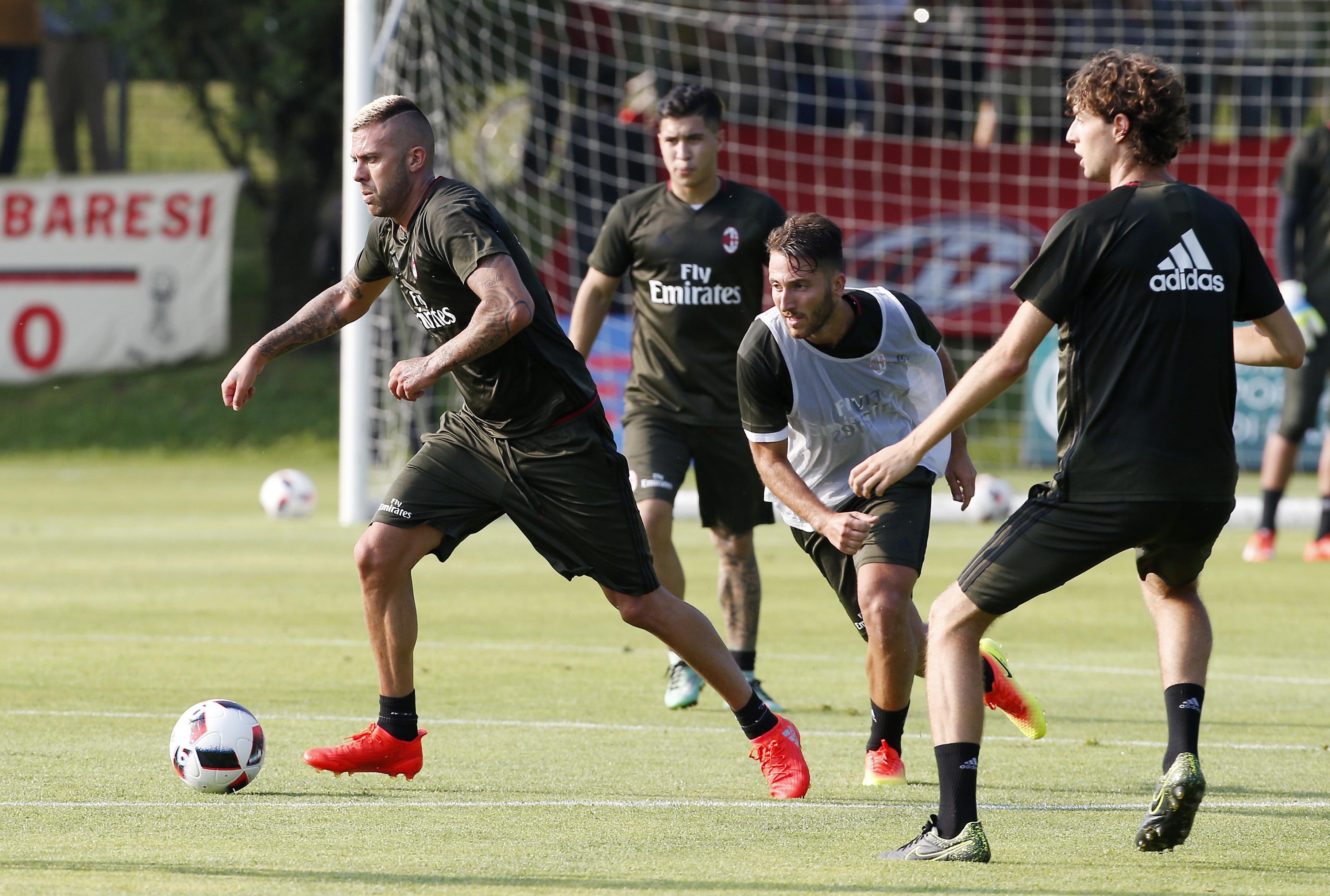 Allenamento AC Milan sconto