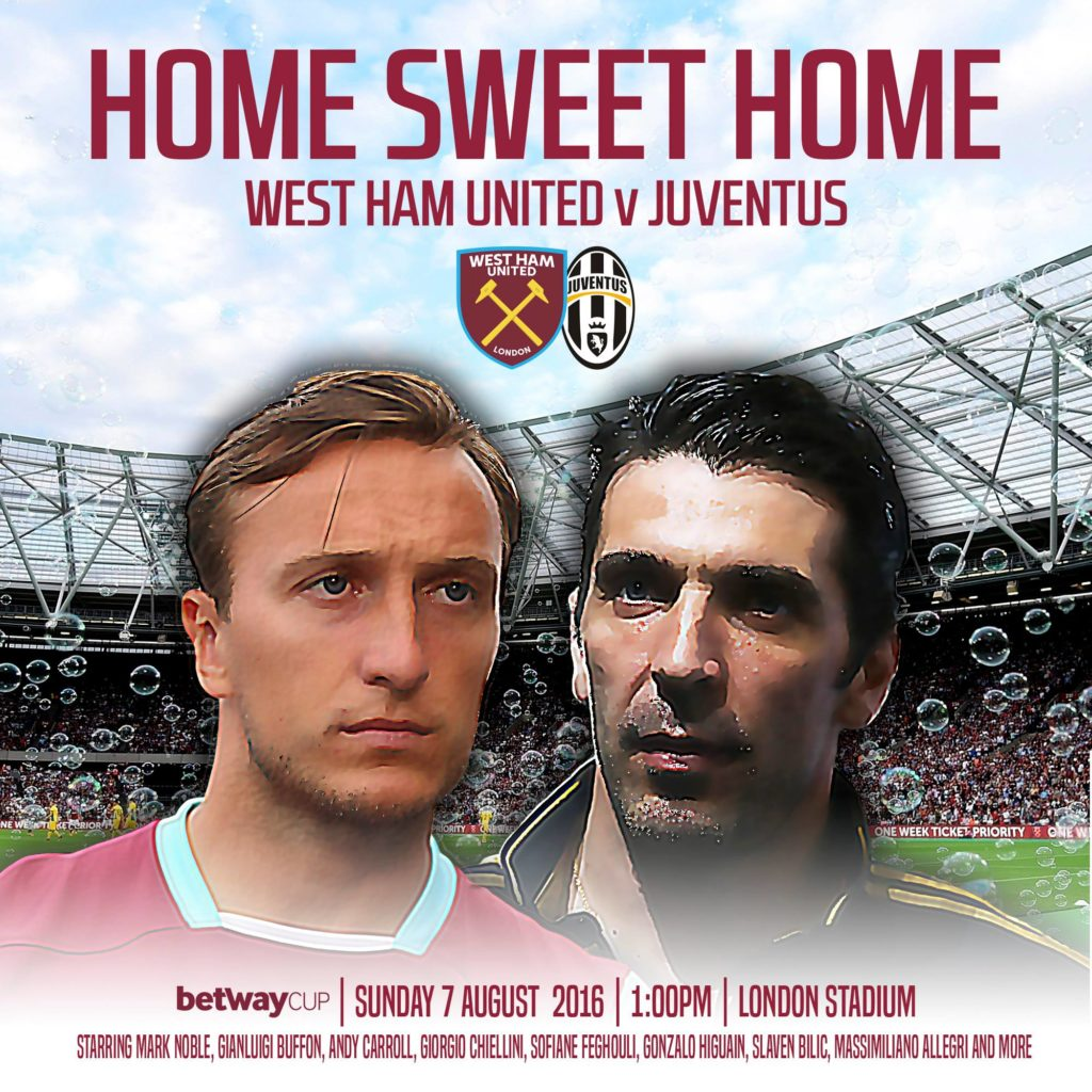 Juventus-West Ham
