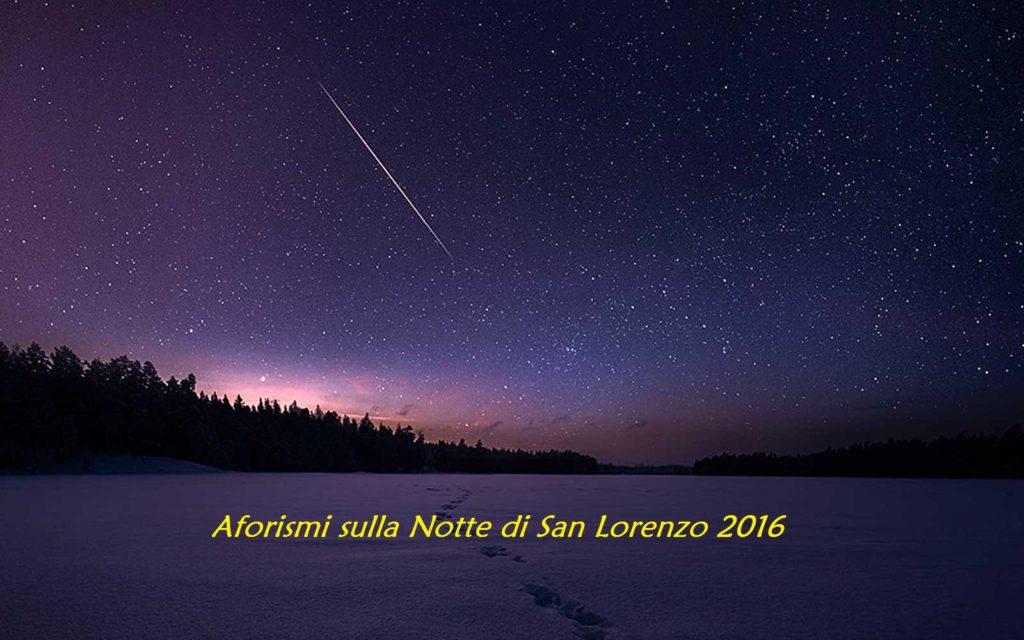 Notte di San Lorenzo 2016
