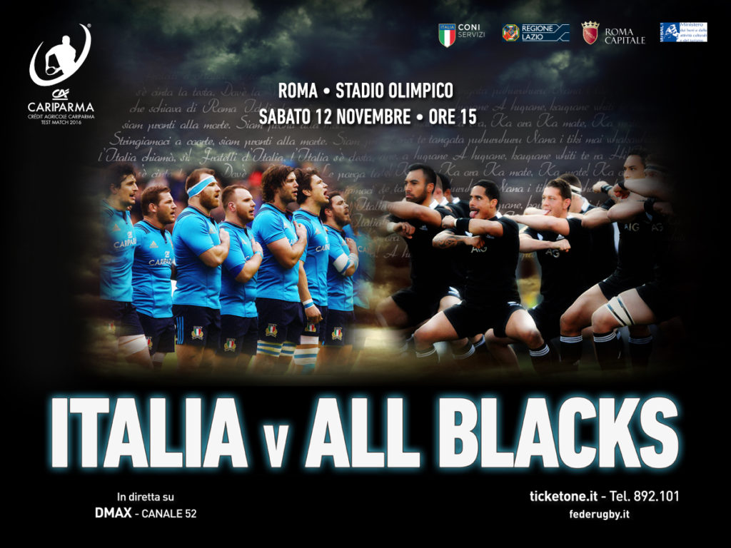 Italia-All Blacks