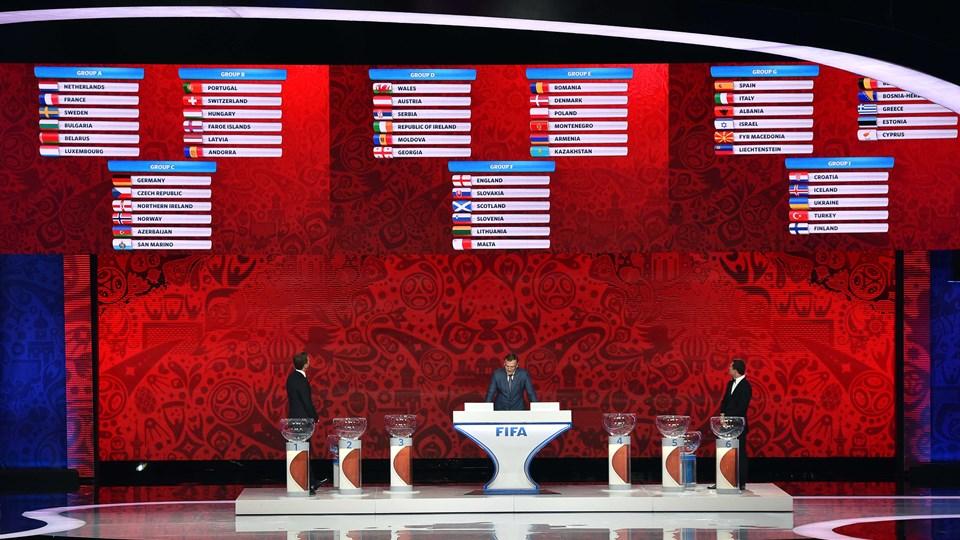 Calendario Partite Mondiali Russia 2020.Qualificazioni Mondiali 2018 Date Partite Italia Gironi