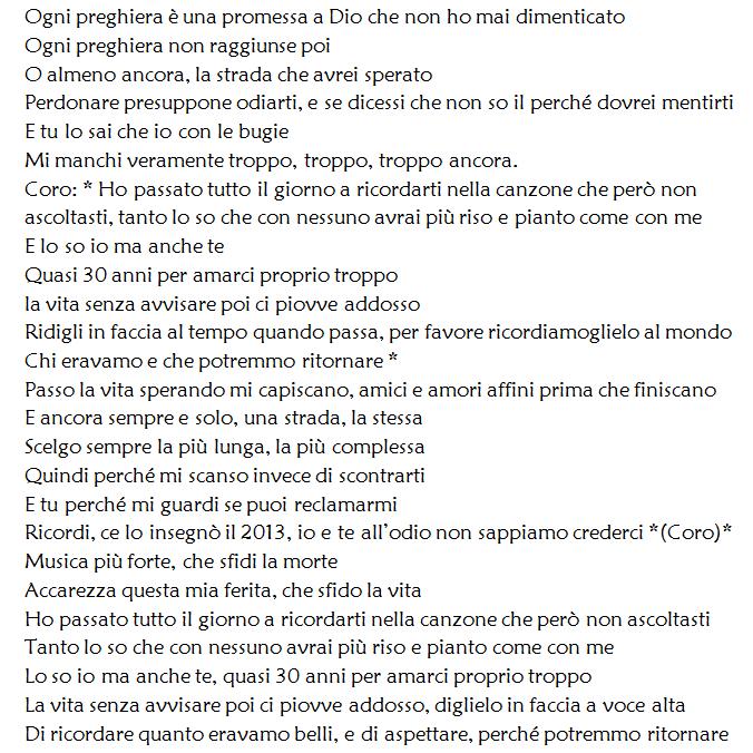 Tiziano Ferro: il nuovo singolo Potrebbero ritornare esce il 28 ottobre!