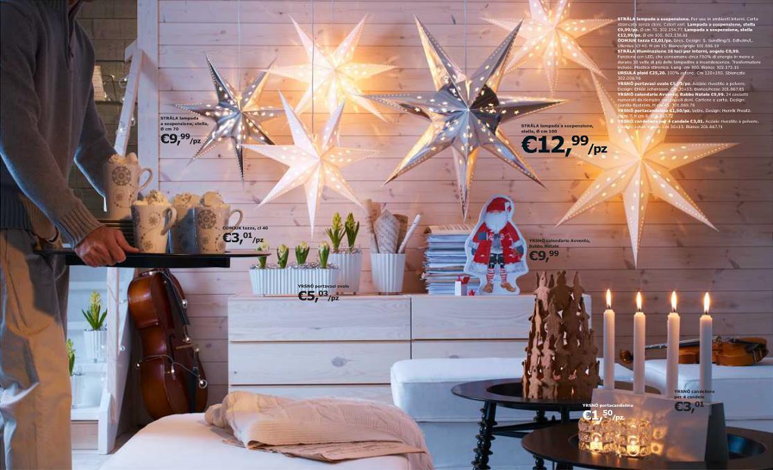 Catalogo natale ikea 2016 2017 offerte albero di natale for Ikea decorazioni