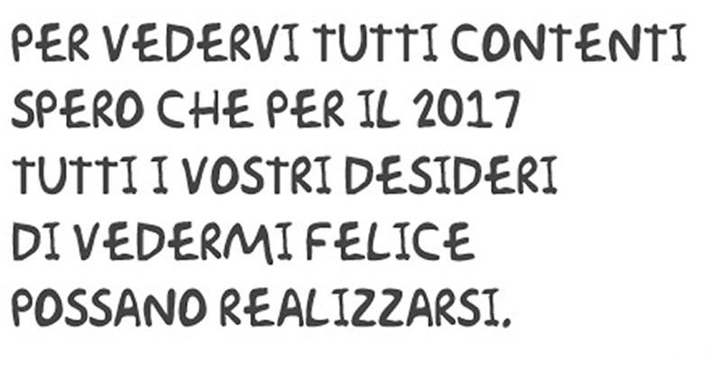 Popolare WhatsApp Auguri Buon 2017: Frasi Capodanno, SMS, foto JPG, dediche  MB19