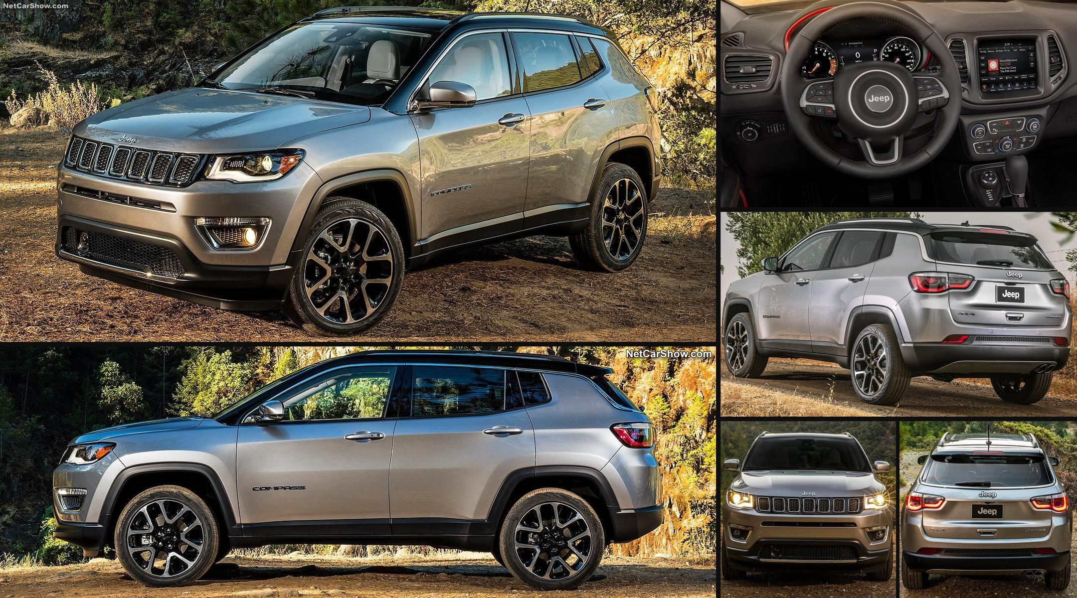 nuova jeep compass 2018 prezzi scheda tecnica dimensioni foto interni e offerte corretta. Black Bedroom Furniture Sets. Home Design Ideas