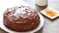 Torta al cioccolato compleanno