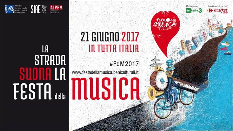 Festa della musica 2017 calendario eventi a roma milano for Calendario eventi milano 2017