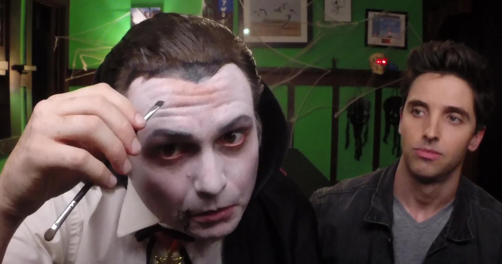Trucco Halloween Vampiro Uomo.Trucco Halloween Uomo Vampiro Zombie Scheletro E Altre Idee