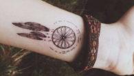 Tatuaggio acchiappasogni indiano