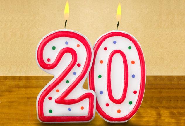 Auguri 20 anni: frasi originali e divertenti di buon compleanno