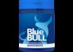 banner blue bull